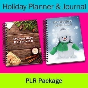 Christmas Planner and Journal PLR Package