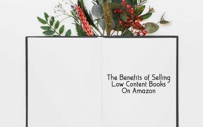 The Benefits of Selling Low Content Books On Amazon