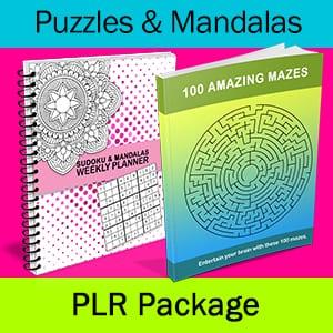 Puzzles & Mandalas PLR Package