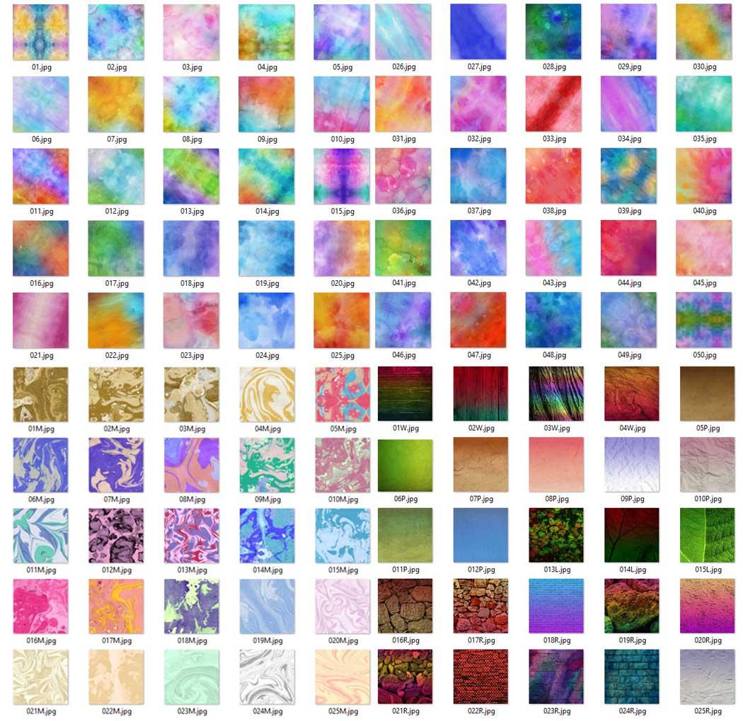 100 Textures