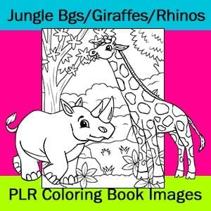 Backgrounds, Rhinos, Giraffes